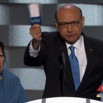 Father of fallen Muslim American soldier tells Trump he will lend him his copy of the Constitution. https://t.co/uqzK8XgIl0