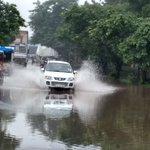 Several areas still waterlogged in #Gurgaon @HTGurgaon https://t.co/TJMmg82PlI