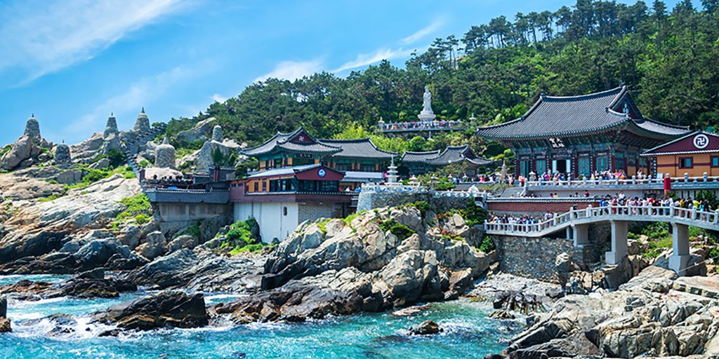 From temples to beaches, there's plenty to see and do in Busan, Korea:
