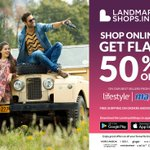 Have you heard? Lifestyle & Max at 50% OFF only at https://t.co/UHkgbhZYwp #ShopAtLandmarkShops https://t.co/GDjLO33vDS