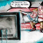 Heres brilliant @roweafr - Putin and Trump watching the Democratic Convention at home ... #FinancialReview https://t.co/PgMjlSfcVo