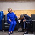 CLINTON I'm going to close on a Hamilton reference OBAMA https://t.co/s7DnpiyAkl