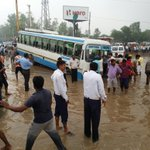 Photos of Current situation at Hero Honda Chowk https://t.co/WCGVXqkjy8