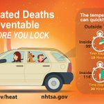 Dont leave kids or pets locked inside cars. #Heat related death and injury is preventable. #BeatTheHeat RT Please! https://t.co/54bWwX8hu4