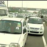 Heavy traffic jam in Gurugram on Delhi-Jaipur highway following monsoon showers https://t.co/sYK5itpJYI