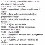 #FinDelMundo y ya tiene programa https://t.co/vaolHTg1eL