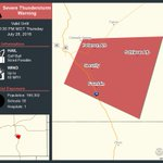 ⚠️ Take Cover! Severe Thunderstorm Warning continues for Fountain CO and Peterson Afb CO until 10:30 PM MDT https://t.co/rYkOGHfUre