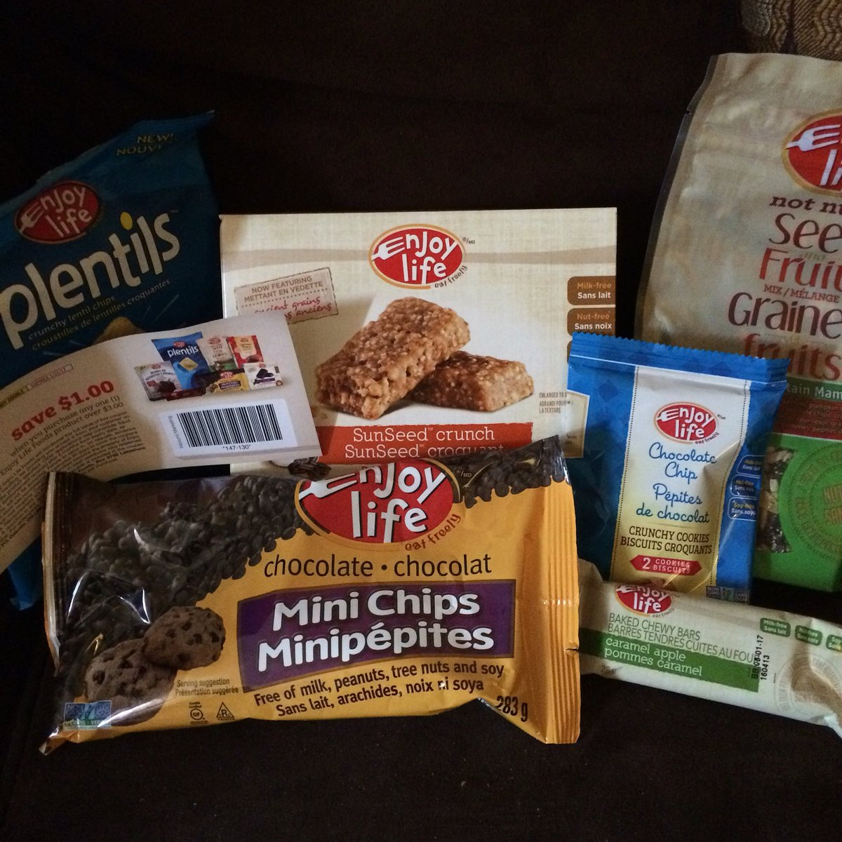 Sometimes you just need to enjoy life - my son thinks I should @enjoylifefoods while playing PokemonGo :D https://t.co/3IhVUbmUbK