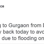 #Haryana: #Gurgaon @gurgaonpolice asks Delhi to stay away as traffic nightmare continues https://t.co/845ZexZmFN… https://t.co/p0XtoXVPMn