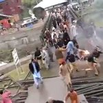 Angry over rigged PoK elections, locals burnt Pakistani flag in Neelum Valley (PoK) and faced police action. https://t.co/TYqVZgnzQD