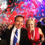 @DannCuellar and @sarahbloomquist close out the #DNCConvention #DemsInPhilly @6abc https://t.co/qYmgCpu3q8