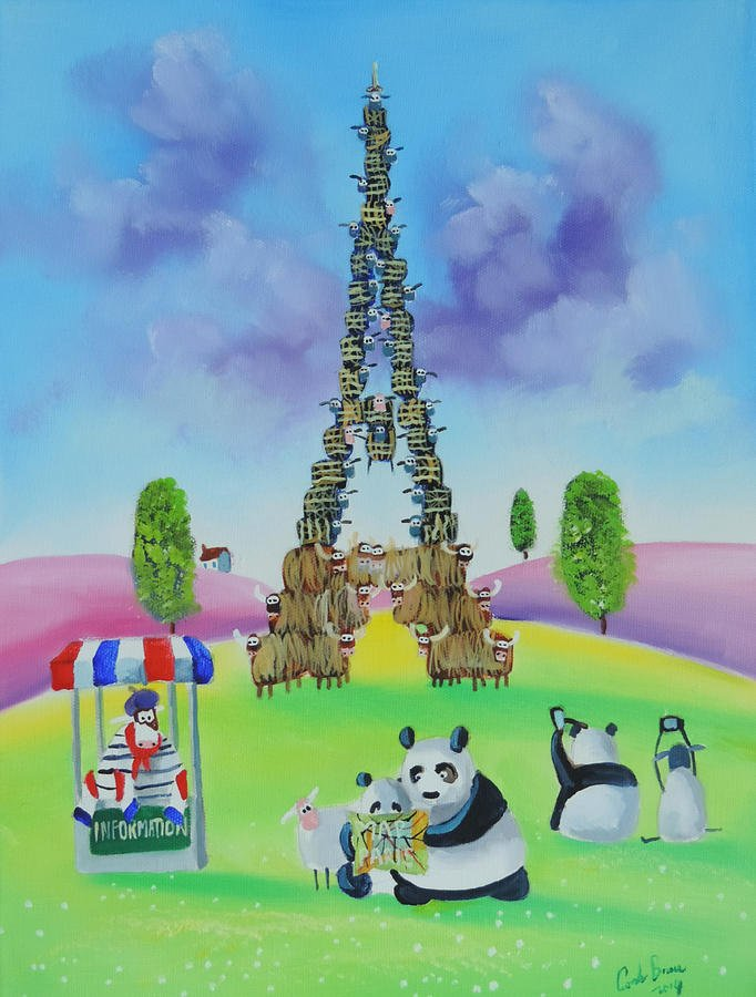 the #Eiffel tower made of sheep and cows https://t.co/YzZDxFyoM7 https://t.co/FxNhK2Hvnu