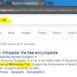 Millennium City? Yhea! Search query shows #Gurgaon as Millennium City! Really!??? #Gurugram https://t.co/nUaXUh5S9x