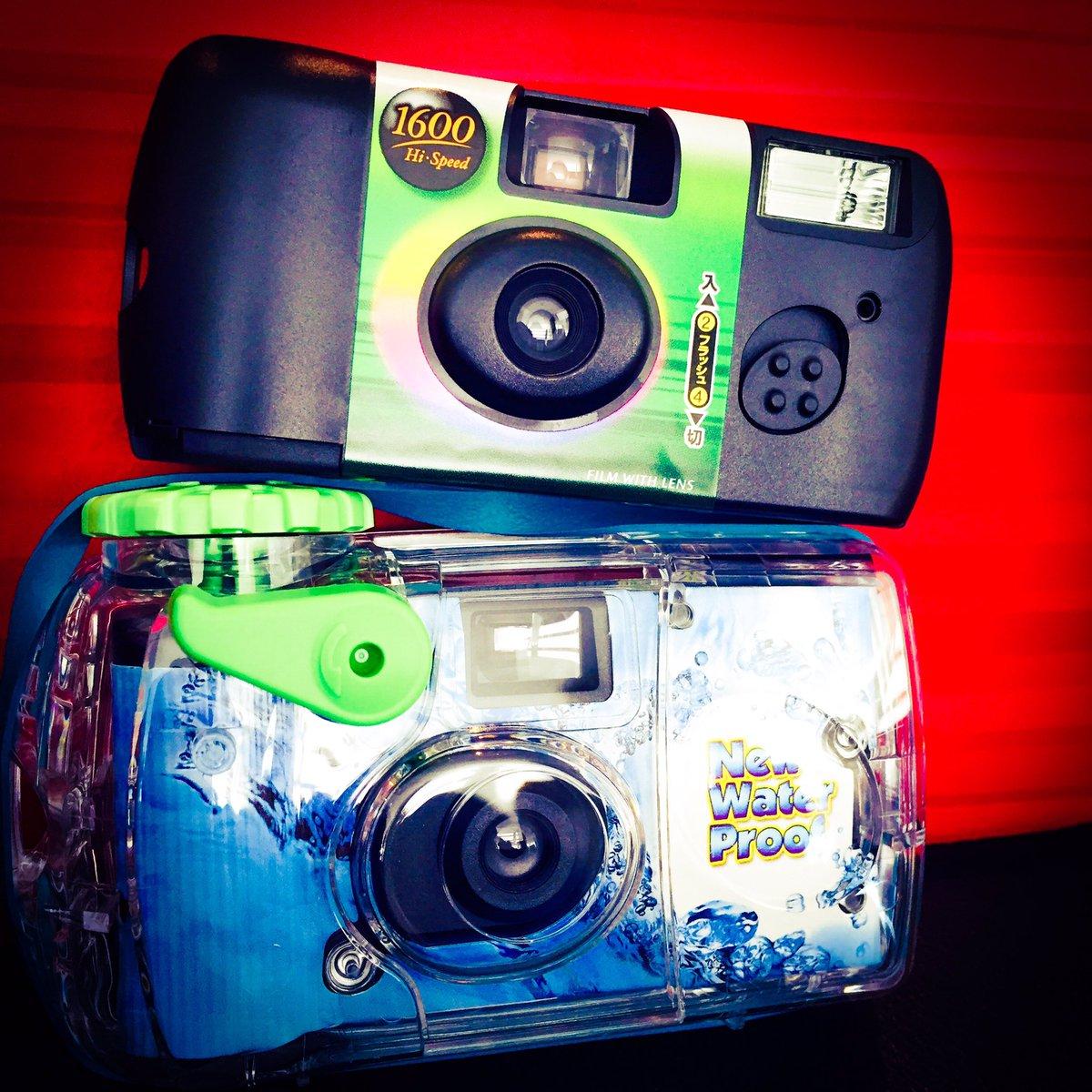 現像が楽しみ。写るんですっ。ポラロイドカメラも欲しい。ライカも欲しい。カメラたのしい。