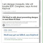 #BhaagKejriBhaag Modi coming with his ideas to kill dengue mosquitoes @Divsbabs @upma23 @saurabhjha12 @KIRTI82 https://t.co/C7GxZ0pdHK