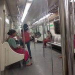Gurgaon Metro line is empty. I guess people prefer to be stuck in rain-induced jams in cars & hashtag their woes https://t.co/RBolAIVCdl
