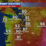 Hear that sizzle? Heres how we ended up today. Hottest of July for #Seattle. #wawx https://t.co/y3AgSUBUeW https://t.co/Kp26kCCf8b