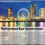 Rotterdam Eye komt eraan Bron: AD #Rotterdam https://t.co/xvT5mJJZqp