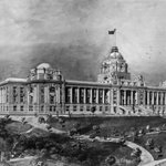 Sketch of the proposed Parliament Buildings (1912) https://t.co/WIDkU4eCdo