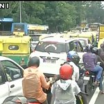 Vehicular movement affected in many parts of Bengaluru due to heavy downpour https://t.co/IsKxrQAFSe