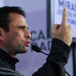 """El exhorto de Capriles al CNE: haremos la """"toma de Caracas"""" si no se pronuncian sobre el RR https://t.co/O8hEn794na https://t.co/euZOXu6IQ3"""