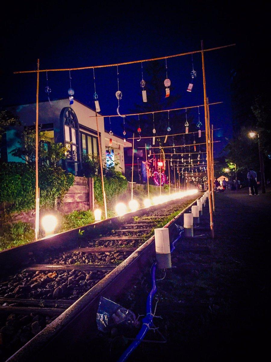 北海道。小樽は今夜はお祭り。浴衣の方が溢れてる。今年はよくお祭りに遭遇するなぁ。