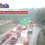 Stand still traffic with this accident on I-476 SB. @6abc #6abctraffic https://t.co/GIp41516TW