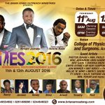 IYES 2016 ◆ 11th & 12th August 2016 ◆ 9am & 6pm each day ◆ College of Physicians and Surgeons, Accra Ghana Freee https://t.co/9enywYOwOW…
