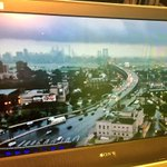 Awesome view of storm cloud deck from Ben Franklin Bridge as it heads away from #Philly. @CBSPhilly @MeishaCBS3 https://t.co/OgGRhBZ6Fj