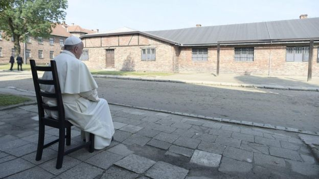 The Pope's visit to Auschwitz is welcome sign of how far Catholic-Jewish relations have come, sends powerful message https://t.co/ZcscyiCfNc
