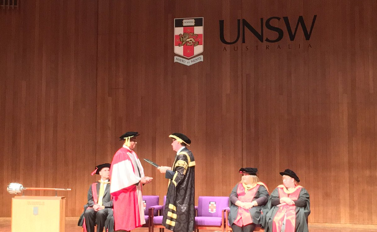 Chancellor David Gonski admits Stan Grant a Doctor of Letters Honoris Causa #stangrantunsw https://t.co/X98qZ75acu