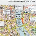 #Polizei informiert über Demos am Sonntag. Mind. 3 Gegendemos. #Türkei #Köln #Erdogan #Demo https://t.co/WQl54PUHWe