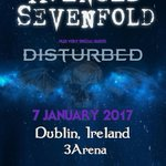 Dublin, let's grab a pint! We'll be in town on January 7th with special guest @Disturbed! https://t.co/7oIiA8Yu3N https://t.co/TkfuvXN2Bg