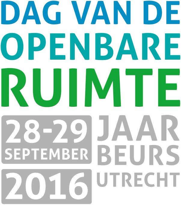 28&29 september is het de dag van de openbare ruimte(@DvdORNL)  in de @jaarbeurs.Komt u ook? https://t.co/EFjORhQZCQ https://t.co/cer1ndOR0W