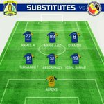 [ STARTING Xl & SUBSTITUTES ] #PersibaDay #PersibaBisa #TSC2016ID https://t.co/XhBm4QJbuJ