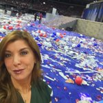THE PARTAYYY is over... Clean up begins at The Wells Fargo Center #DemsInPhilly @6abc https://t.co/f3ms5h6Wid