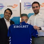 KIROLBET, nuevo patrocinador oficial del Deportivo Alavés https://t.co/4NMtJz5oem https://t.co/tVzt4ZXf57
