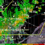 Severe thunderstorms continuing to progress through the Oklahoma City metro area https://t.co/AVpDIRa8D4