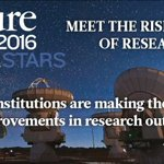 Our #research places us top 50 globally and 4th in the UK, in @nature  Index Rising Stars: https://t.co/XwXKR9N8Az https://t.co/VGQDxPE74y