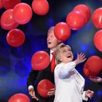 Find someone who looks at you the way the Clintons look at balloons. https://t.co/Ckyb8YdfRO