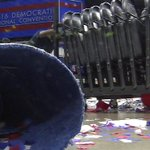 Day After #DNCinPHL: Cleanup at Wells Fargo Center https://t.co/RqtCJXIlVn #DemConvention https://t.co/vLMybFBao3