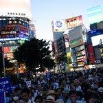 たくさん、たくさんの人!2016.7.29 #鳥越俊太郎 街宣@渋谷 #都知事選 https://t.co/kqMCQGaT3G