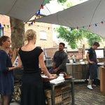 Een bezoekje aan... het zomerrestaurant van @hoteltherooseve in Middelburg https://t.co/7MT4lr22id https://t.co/Hj4u9iNdxx