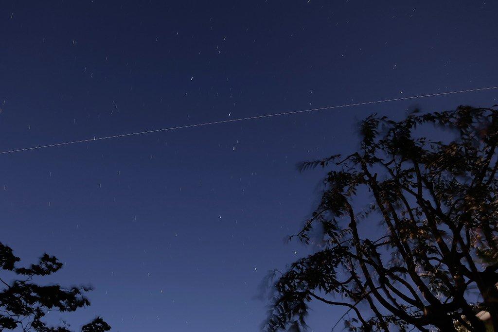 今東京で見えた宇宙ステーションです(線に写っています)。北斗七星を横切っていきました。 先日ご紹介し…