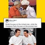 For Rahul Gandhi Robert Vadra is poorest man. Whereas For @narendramodi ji a farmer is richest man. https://t.co/S4nl66Jo3Y