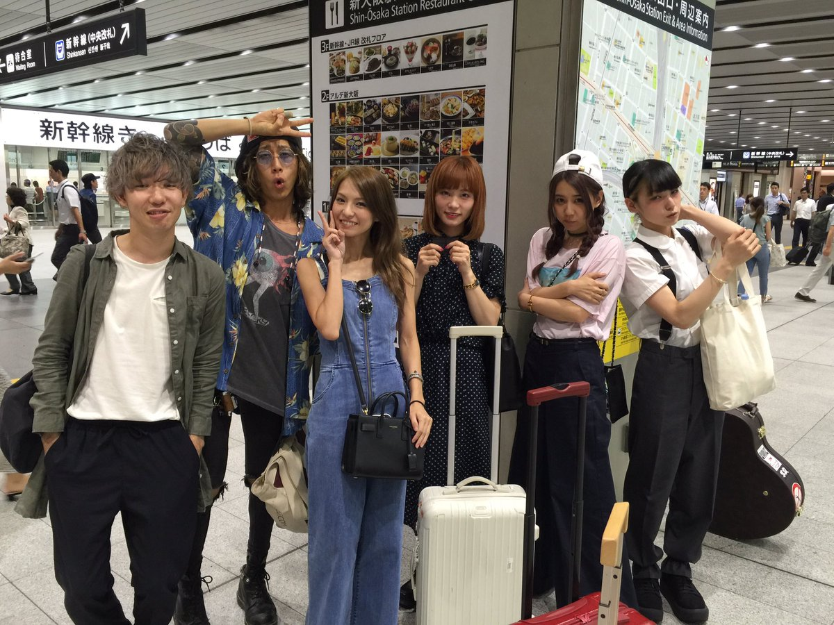 【おまけ】 新大阪にレアなポケモンがいたから一緒に写真撮ったよ。#SCANDAL #superbea…