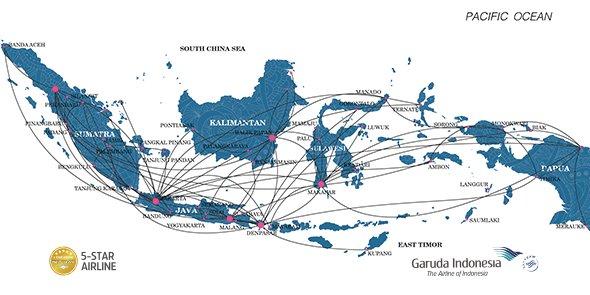 Kami melayani berbagai rute domestik di Indonesia yg bisa menjadi destinasi Anda berikutnya.