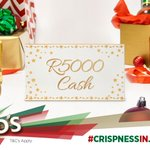 R5K up for grabs! Tag a friend whos just signed up for #CrispnessInJuly & stand a chance to WIN. Too easy ;) https://t.co/fr7eNNtbAo