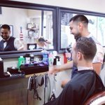 Thank goodness its #FreshCutFriday at the #HobokenCrew! #Hoboken #barber https://t.co/f1WGfX16hd