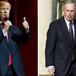 """Trump calls Bloomberg a """"disaster"""" after previously praising him on Twitter: https://t.co/T4wqtuUeyW https://t.co/rr0klVKH4R"""